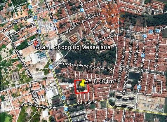 Terreno comercial à venda, Messejana, Fortaleza.
