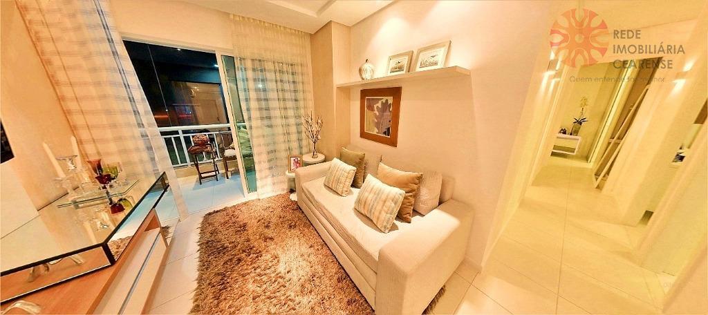 Apartamento à venda no bairro de Fátima, 90m2, 3 quartos, 2 suítes, 2 vagas. Financia.