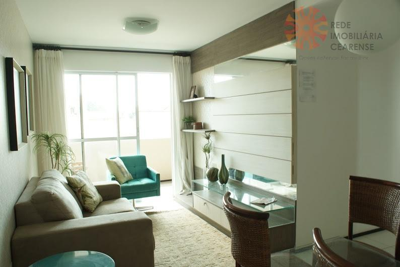 Apartamento residencial à venda, Passaré, Fortaleza - AP0807.