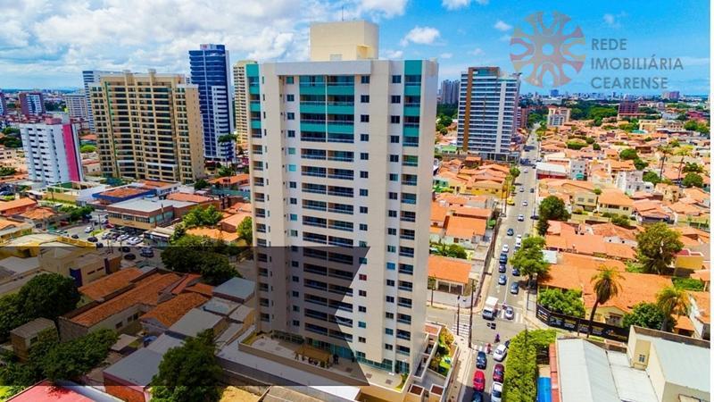 Apartamento à venda no Bairro de Fátima. Nascente, andar alto, 100% projetado, 117,88m2, 3 suítes.