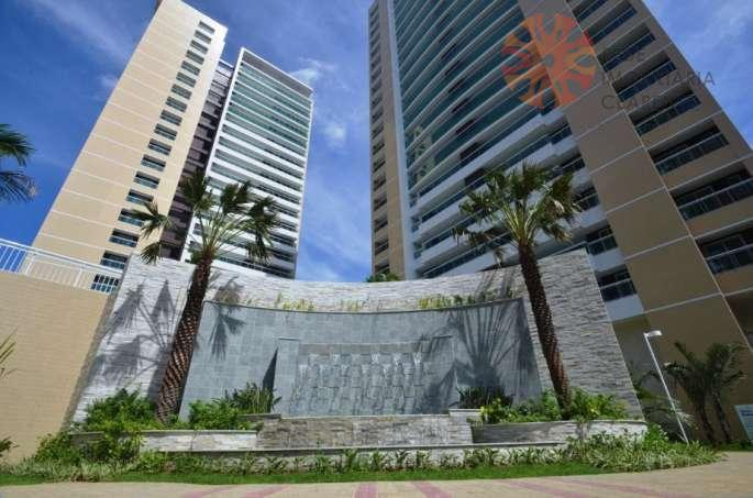 Apartamento Alto padrão à venda no Guararapes, 3 suítes, estar íntimo, 3 vagas. Financia.