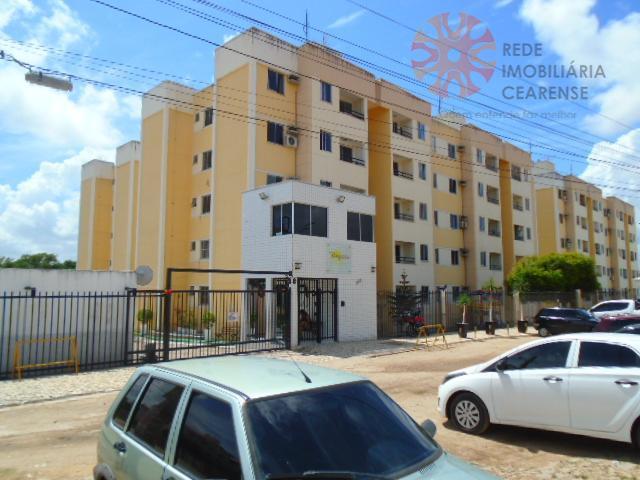 Apartamento residencial à venda, Messejana, Fortaleza.