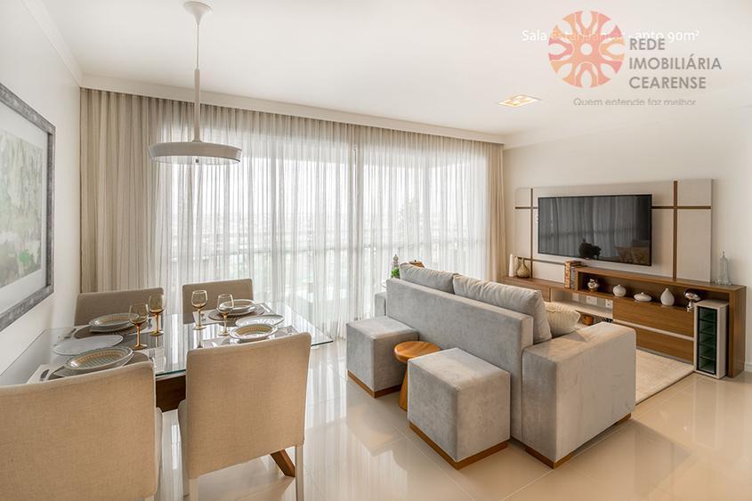 Apartamento 3 quartos à venda no bairro de Fátima, 90m2, 2 suítes, 2 vagas, lazer completo. Financia.