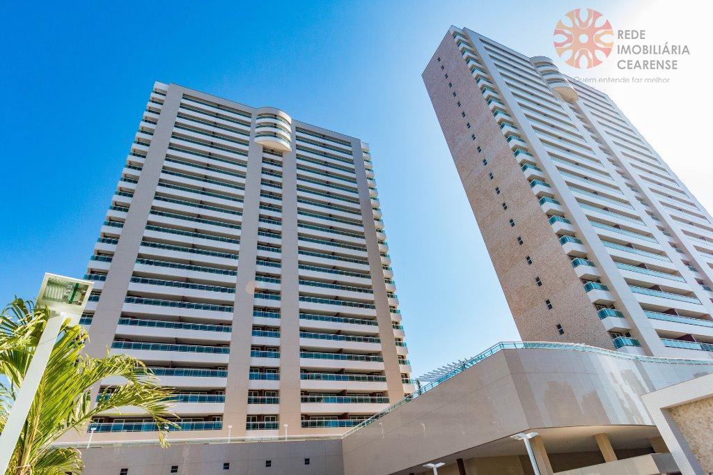 Apartamento à venda no Cocó. Novo, pronto para morar. 130,66m2, 3 suítes, financia.