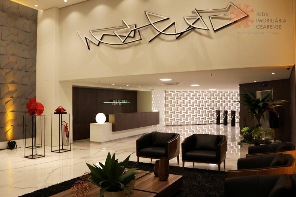 Salas comerciais à venda no Centro, de 34,17m2 à 50,48m2. Financia.