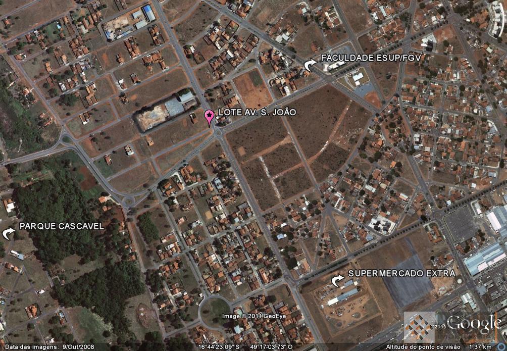 área com 407,50 m2 medindo 9 m2 de frente pela rua olinda; 7,07 m2 de chanfrado;...