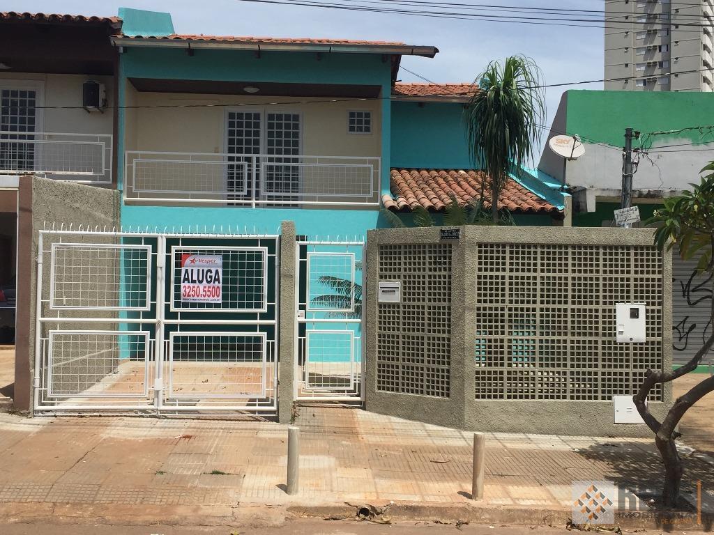 Sobrado  residencial para locação, Parque Amazônia, Goiânia.