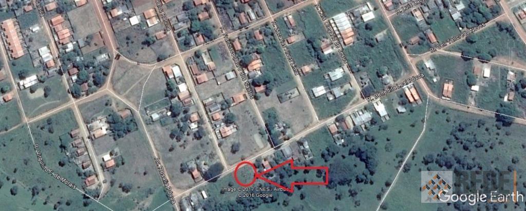 Terreno residencial à venda com 360,00 m², Jardim Dom Bosco, Aparecida de Goiânia.