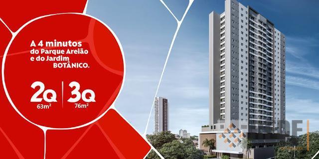 Apartamento residencial à venda, Setor Pedro Ludovico, Goiânia.