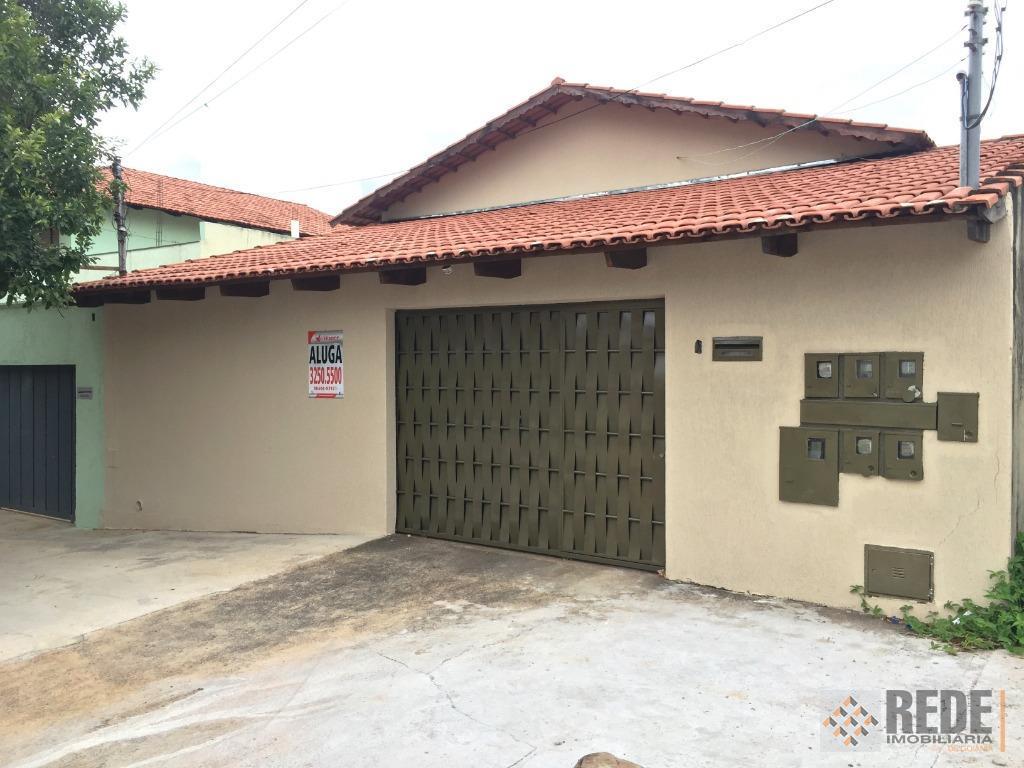 Casa com 3 dormitórios para alugar, 120 m² por R$ 1.500/mês - Parque Amazônia - Goiânia/GO