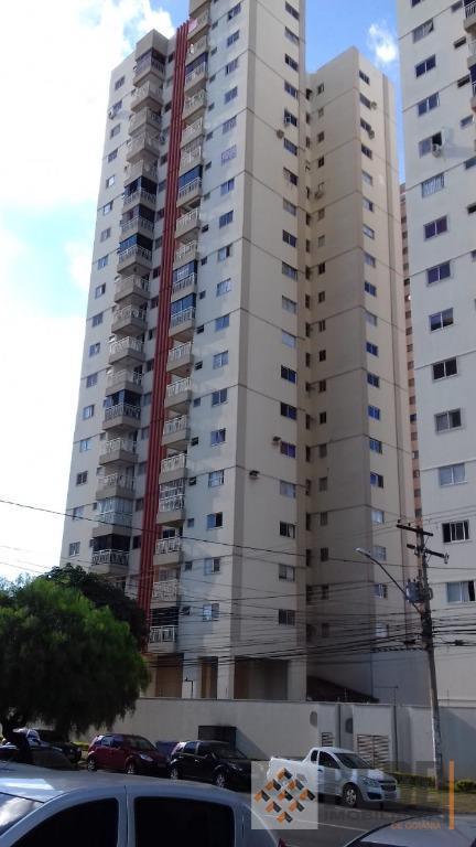 Apartamento com 2 dormitórios à venda, 65 m² por R$ 279.000 - Setor Bela Vista - Goiânia/GO