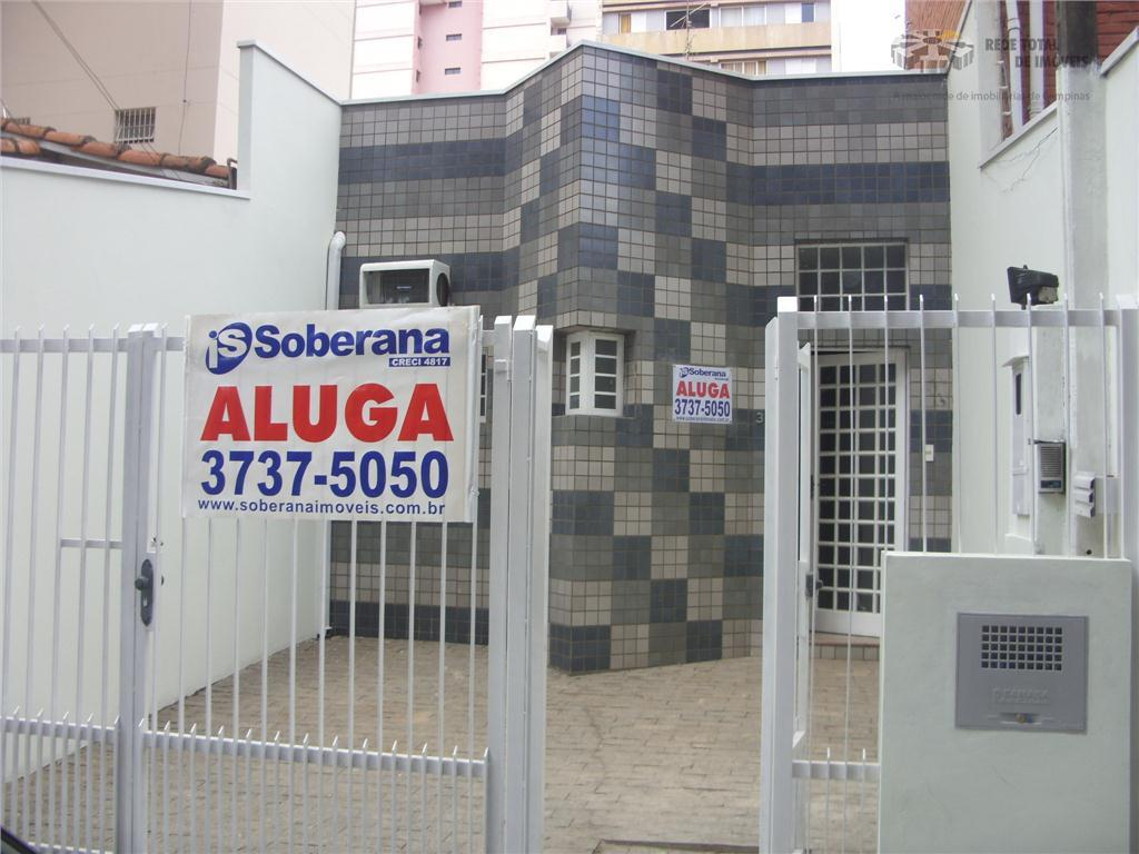 Casa Comercial para locação, Centro, Campinas - CA1660.