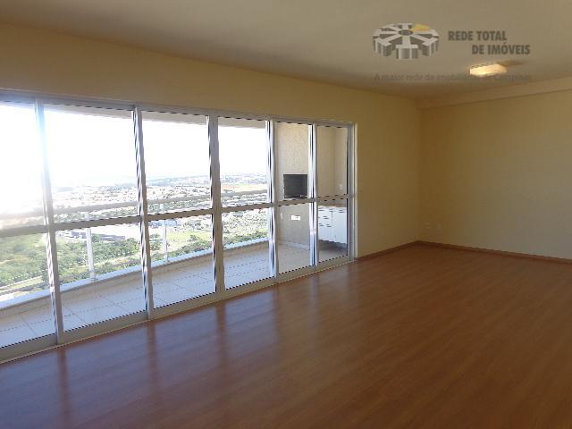 Apartamento residencial para locação, Mansões Santo Antônio, Campinas - AP0378.