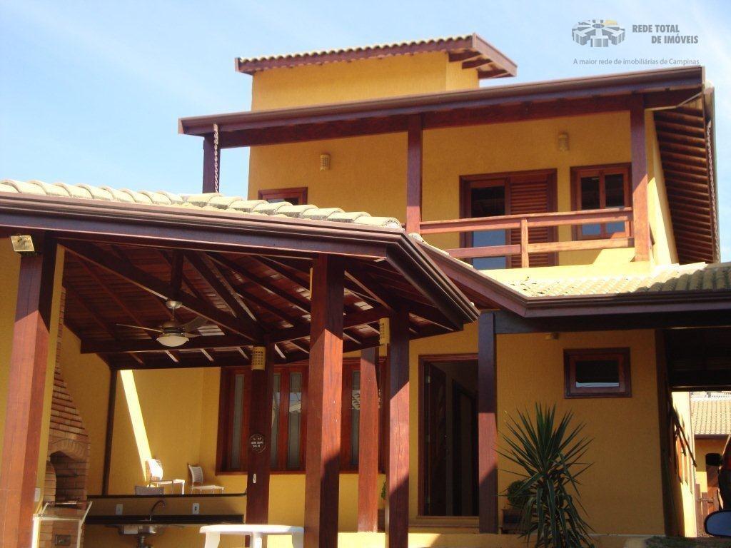 Casa residencial à venda, Parque Prado, Campinas - CA0561.