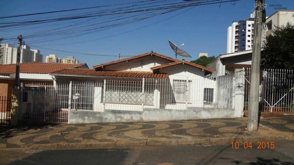 Casa 3 dormitórios, Jardim Chapadão, Campinas - CA8190.