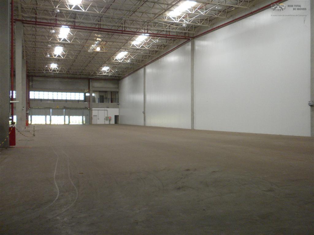 Galpão industrial para locação, Parque Cidade Campinas, Campinas - GA0390.
