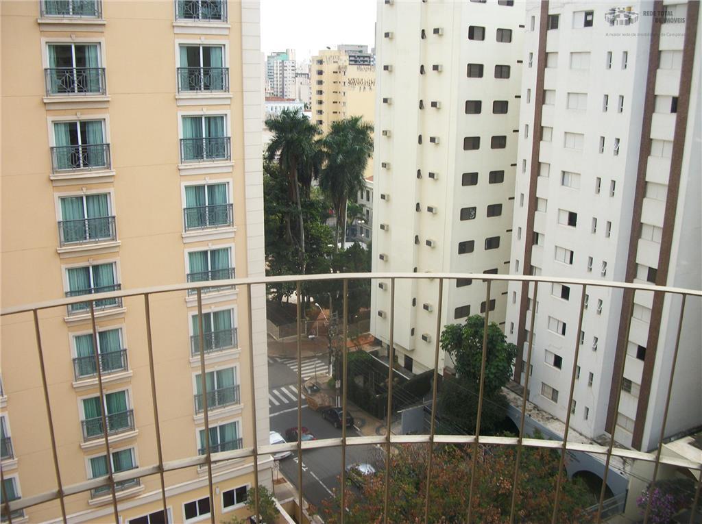 Apartamento residencial para venda e locação, Cambuí, Campinas - AP0812.