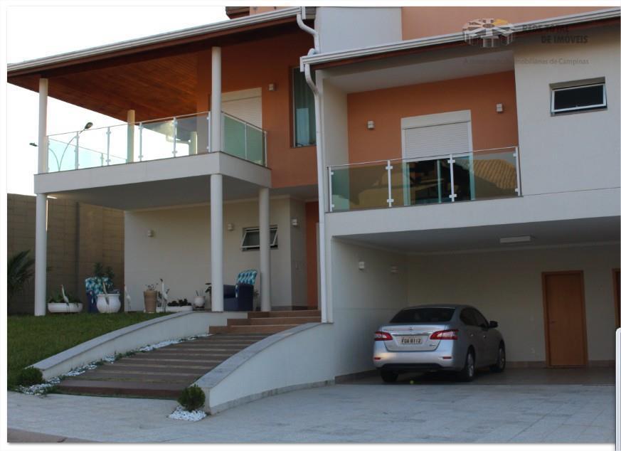 Casa residencial para locação, Swiss Park, Campinas.