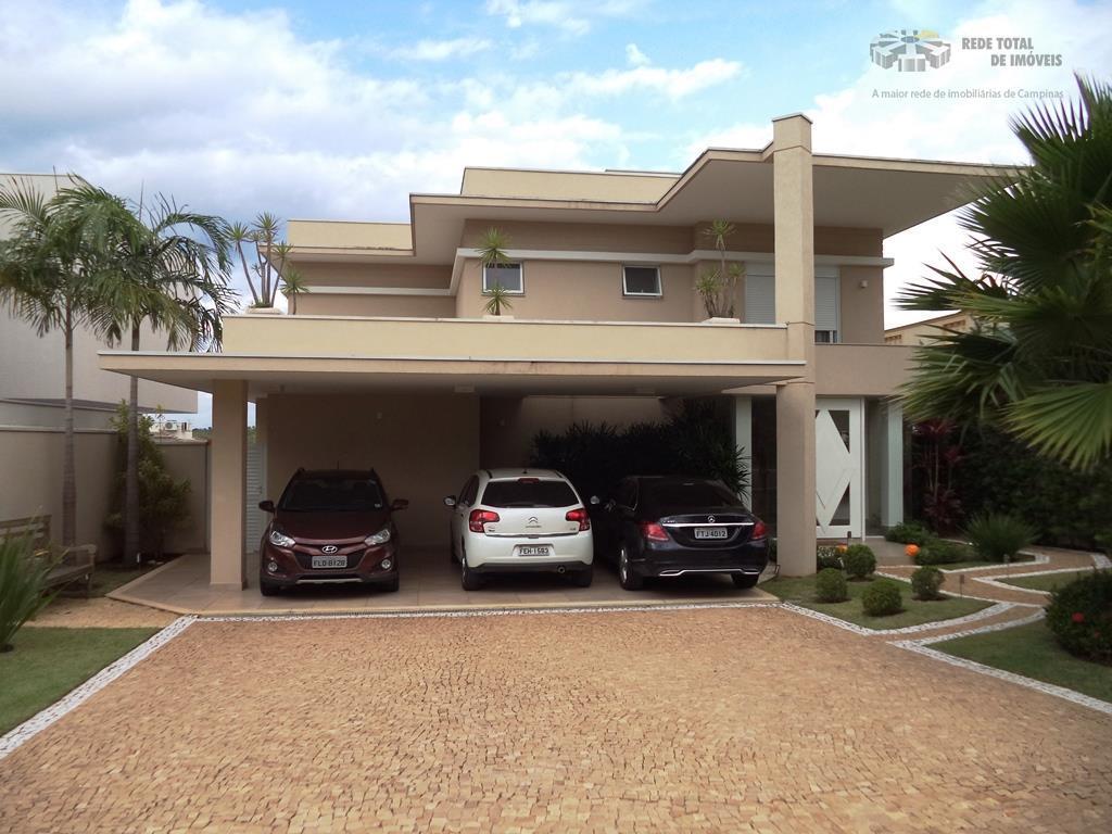 Casa residencial à venda, Alphaville Dom Pedro, Campinas.