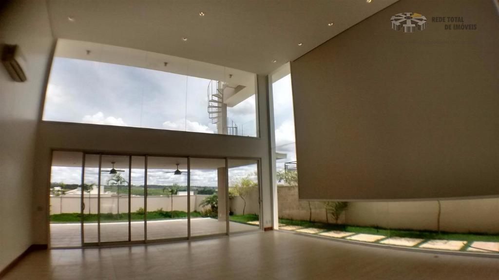 Casa residencial à venda, Mont Blanc Residence, Campinas - CA2721.