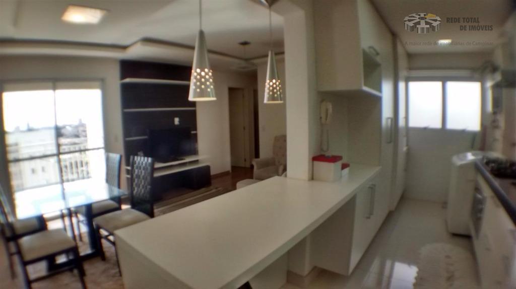 Apartamento residencial para venda e locação, Parque Prado, Campinas - AP3314.