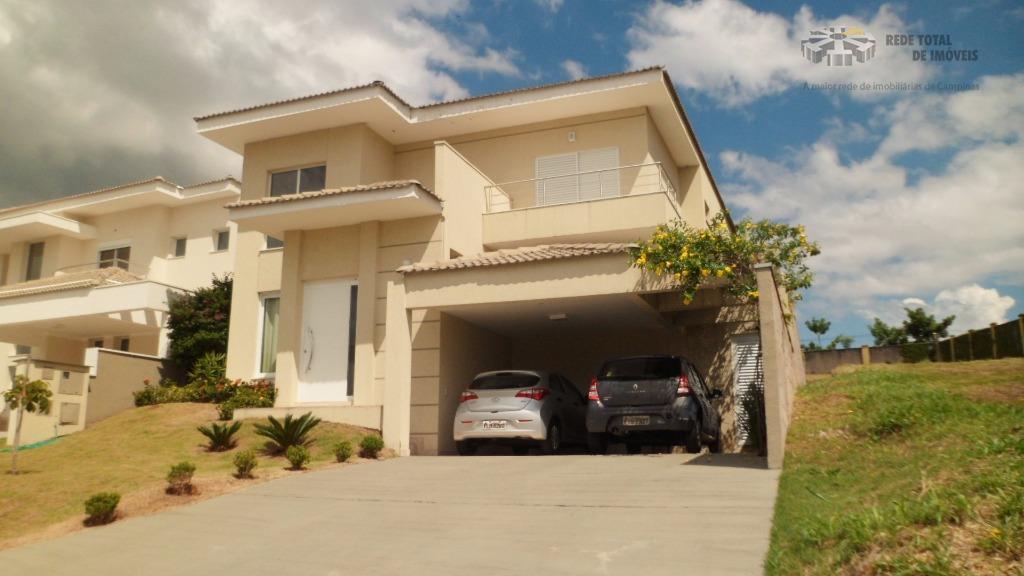 Casa residencial à venda, Alphaville , Campinas - CA0819.