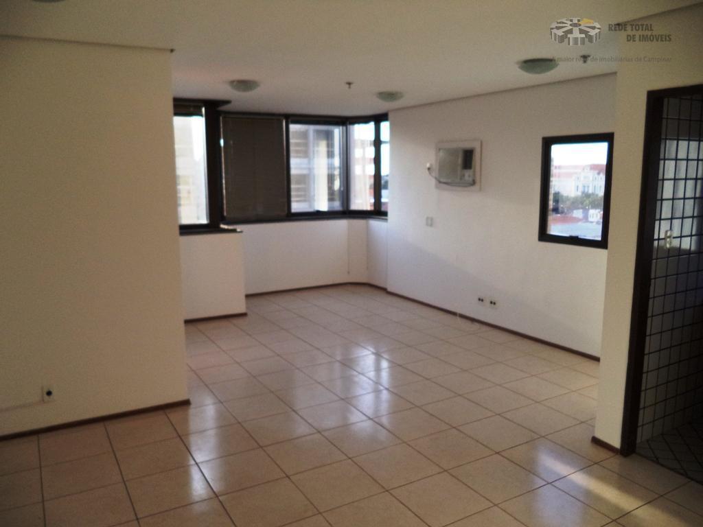 Sala comercial para venda e locação, Taquaral, Campinas - SA0225.