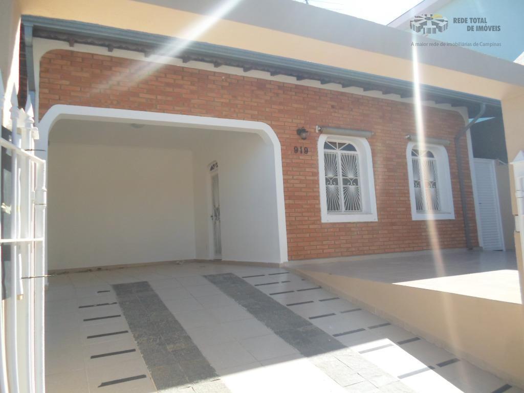 Casa residencial para locação, Jardim Nova Europa, Campinas.
