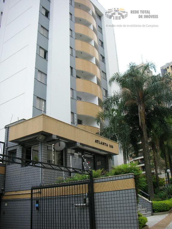 Apartamento residencial para locação, Botafogo, Campinas - AP2937.