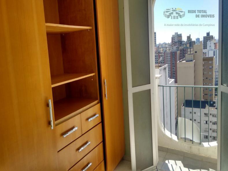 Kitnet residencial para locação, Botafogo, Campinas.