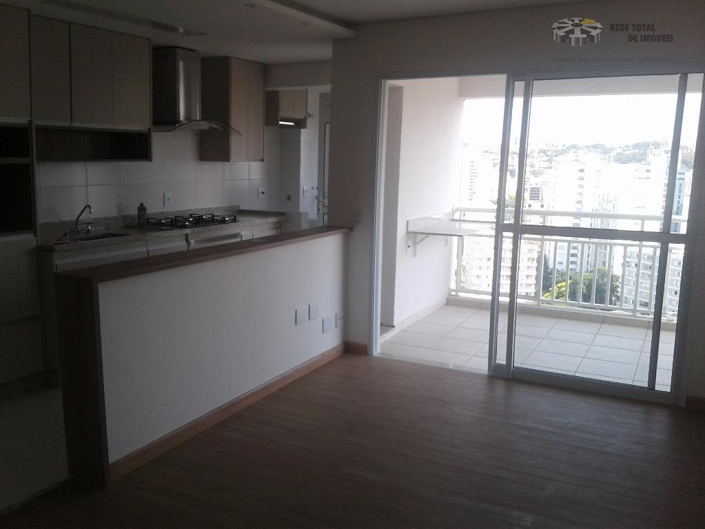 Apartamento residencial para 1ª primeira locação, Cambuí, Campinas.