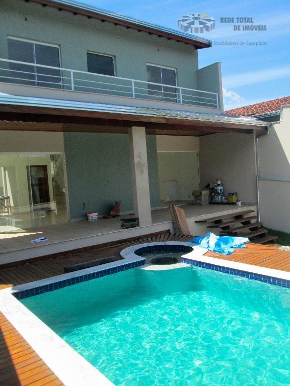 Casa residencial à venda, Sousas, Campinas.