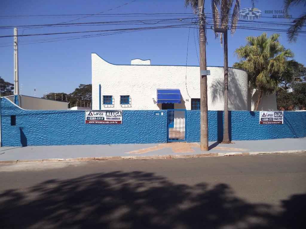 Casa comercial para locação, Cidade Universitária, Campinas - CA3108.