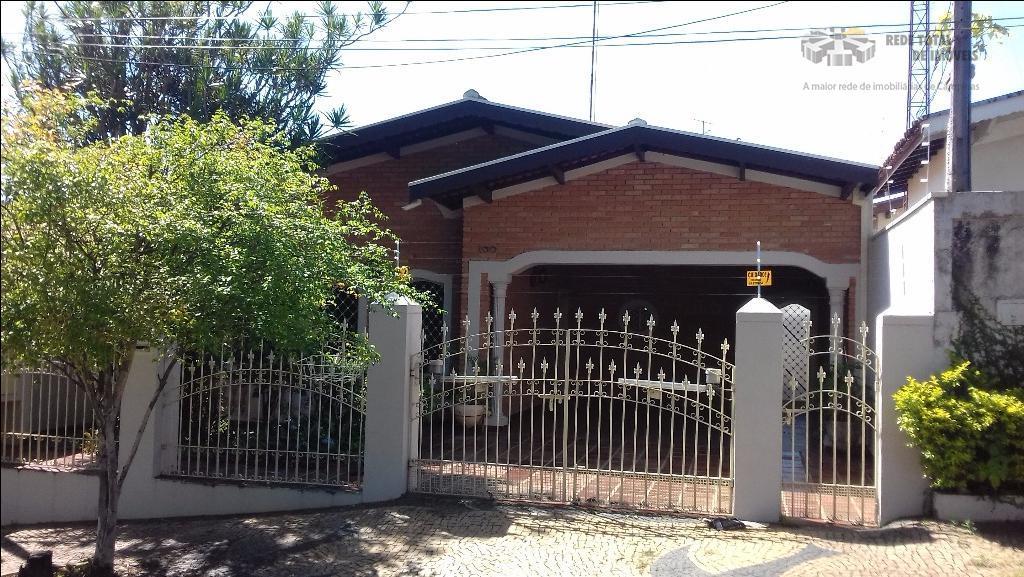 Casa residencial para locação, Jardim Flamboyant, Campinas.