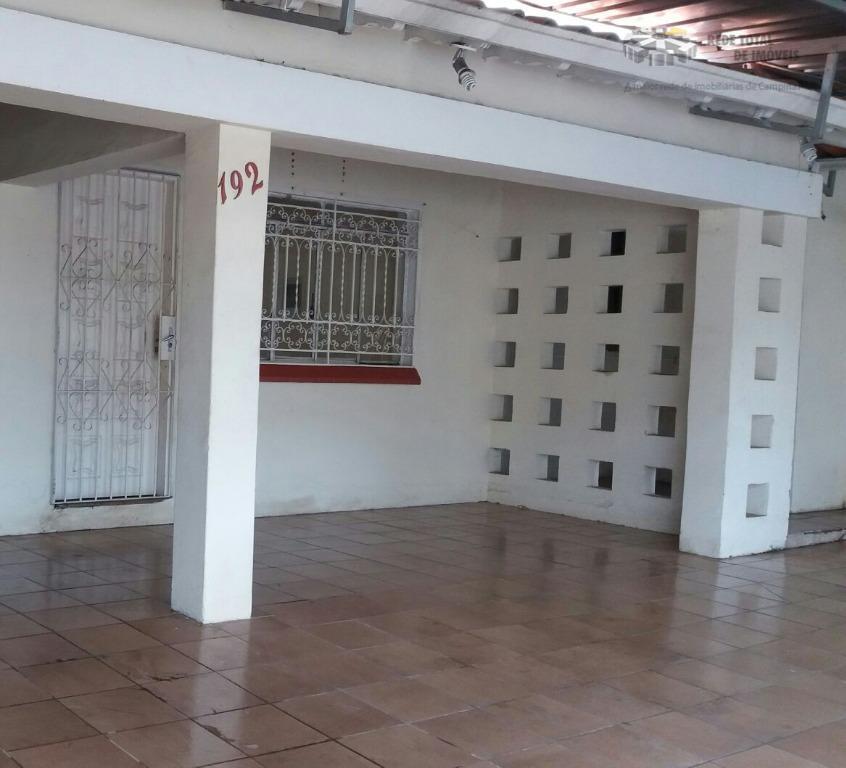 Casa comercial para locação, Jardim Guanabara, Campinas - CA2855.