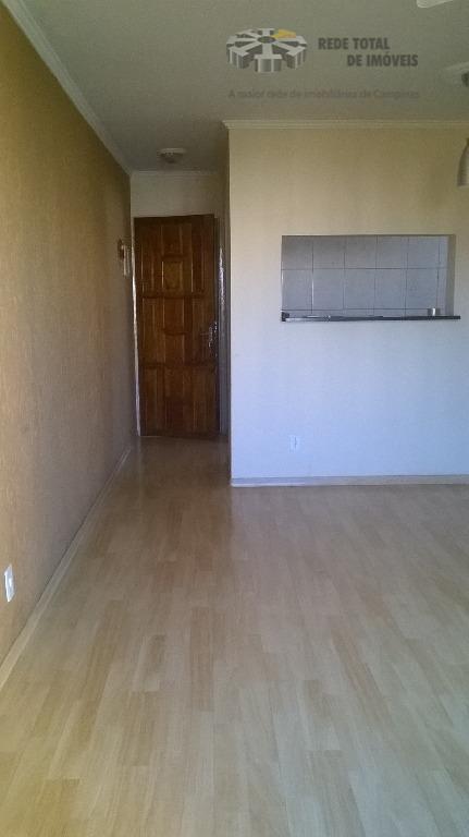 Apartamento residencial para locação, Recanto do Sol I, Campinas.
