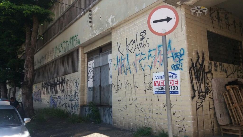 Barracão comercial à venda, Vila Industrial, Campinas - BA0080.