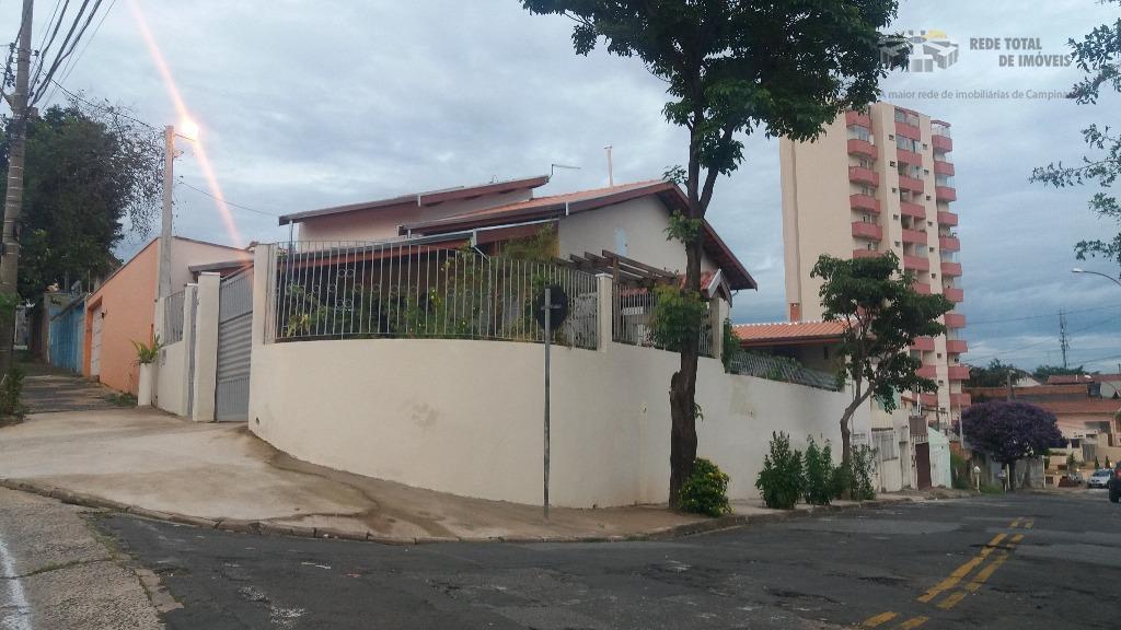 Casa residencial à venda, Vila Industrial, Campinas - CA0239.