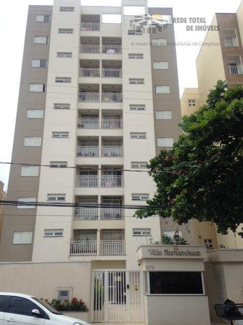 Apartamento residencial à venda, Bonfim, Campinas - AP1265.
