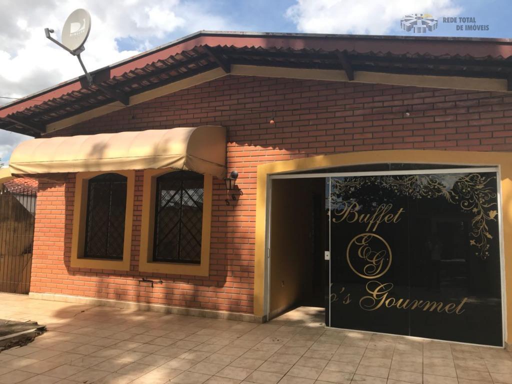 Casa comercial para locação, Jardim Nova Europa, Campinas.