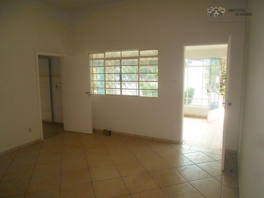 Casa residencial para locação, Bonfim, Campinas.