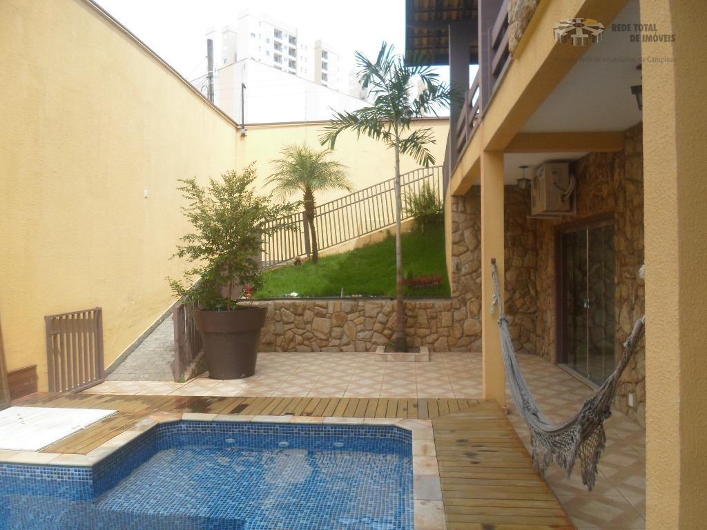 Casa comercial para locação, Jardim Chapadão, Campinas - CA3767.