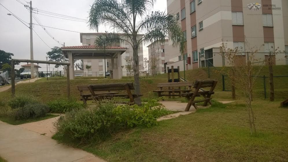 Apartamento residencial para locação, Chácara de Recreio Santa Fé, Campinas - AP0955.