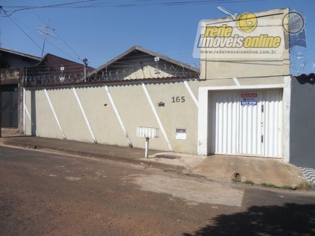 Casa residencial para venda e locação, Conjunto Costa Telles I, Uberaba - CA1444.