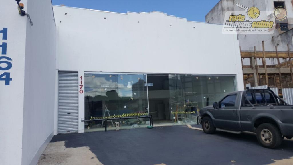 Galpão comercial para locação, Centro, Uberaba.