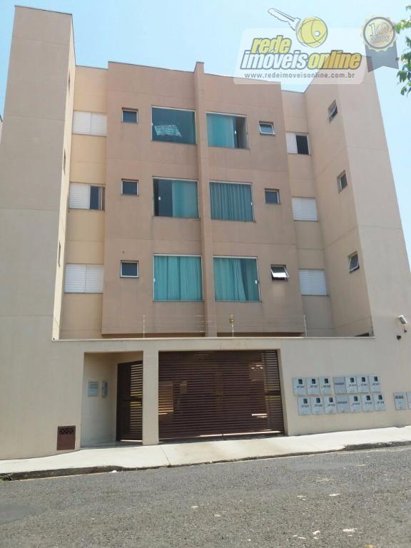 Apartamento residencial à venda, Olinda, Uberaba - AP1689.