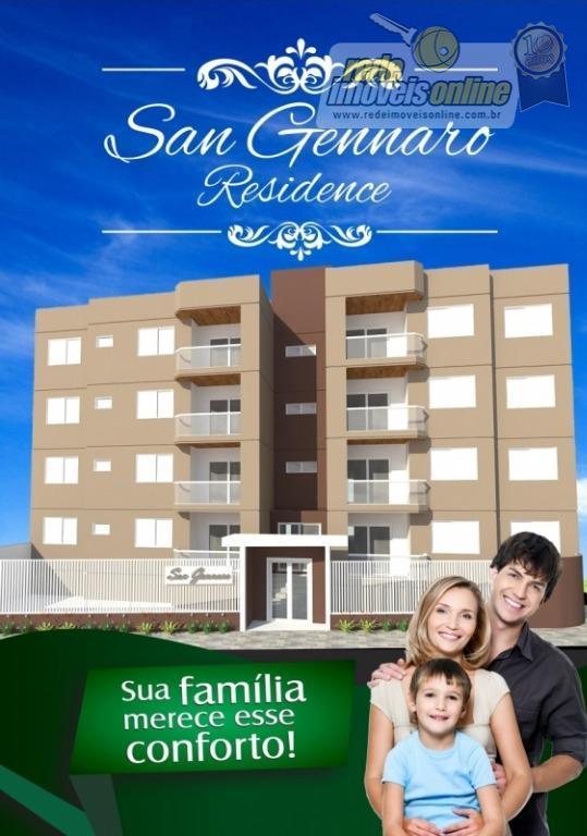 Apartamento residencial à venda, Mercês, Uberaba - AP0716.