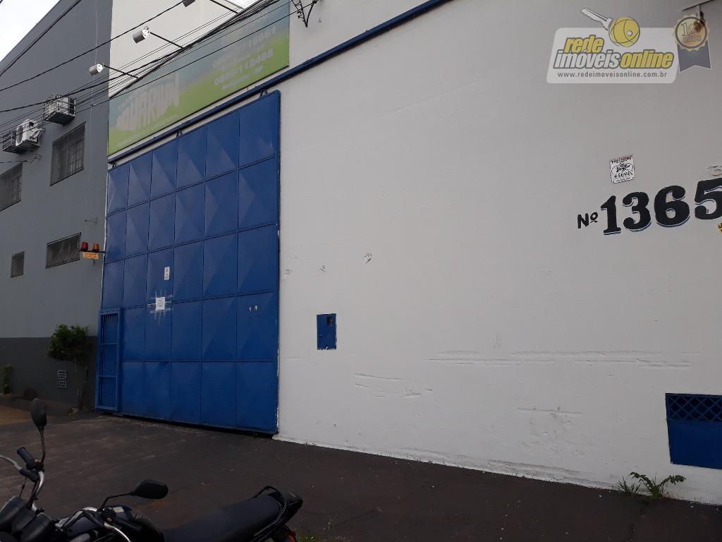 Galpão comercial para locação, Vila São Cristóvão, Uberaba - GA0072.