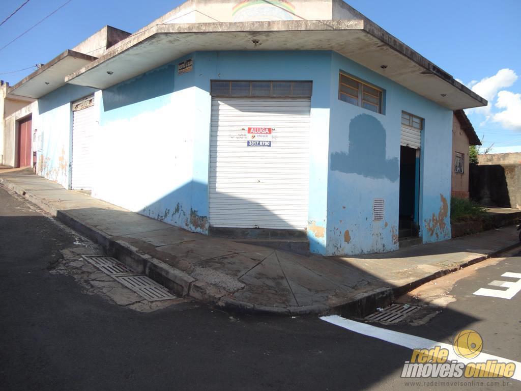 Ponto  comercial para locação, Núcleo Habitacional Silvério Cartafina, Uberaba.