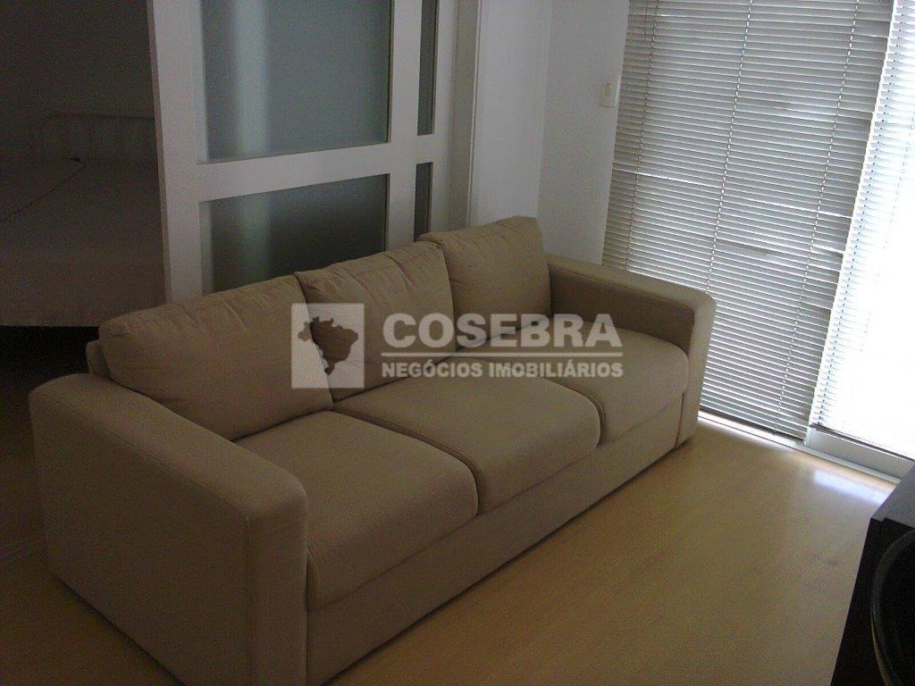Apartamento para locação totalmente mobiliado, 01 dormitório na Vila Olímpia - São Paulo.